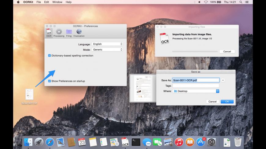 OCRKit for Mac - review, screenshots