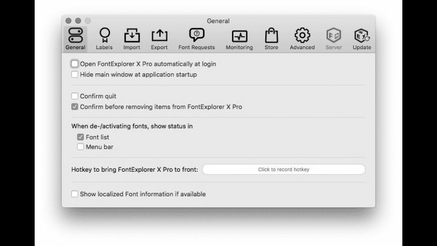 FontExplorer X Pro for Mac - review, screenshots