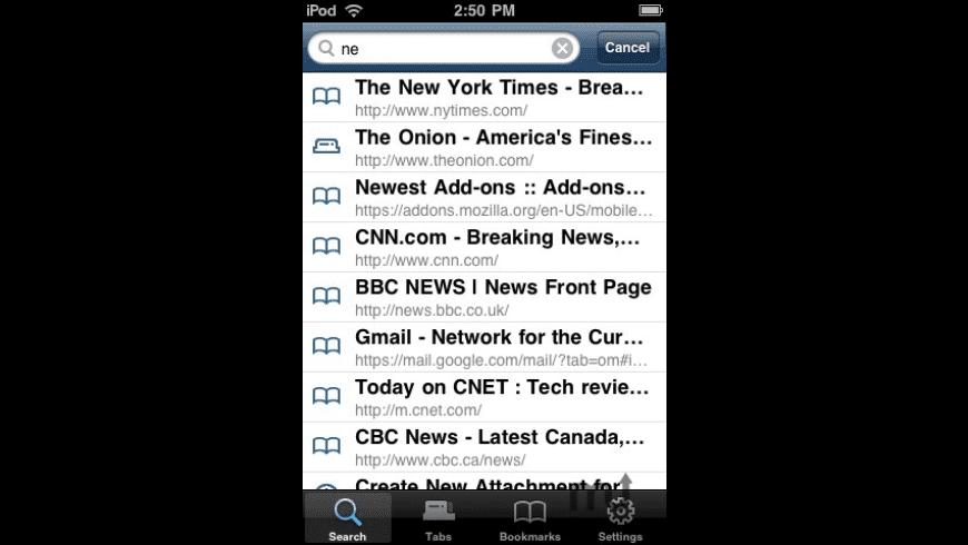 Firefox Home for Mac - review, screenshots