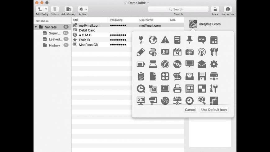 MacPass for Mac - review, screenshots