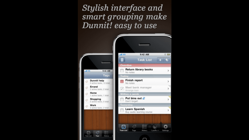 Dunnit! for Mac - review, screenshots