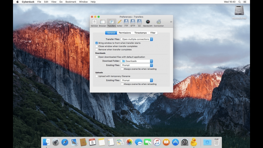 Cyberduck for Mac - review, screenshots