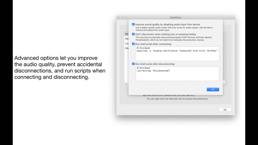 ToothFairy for Mac - review, screenshots