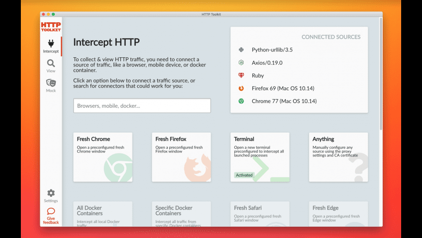 HTTP Toolkit for Mac - review, screenshots