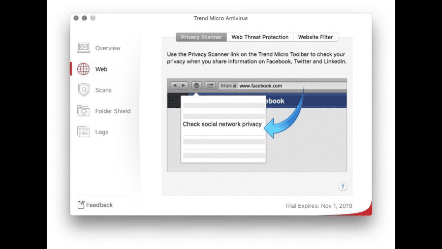 Trend Micro for Mac - review, screenshots