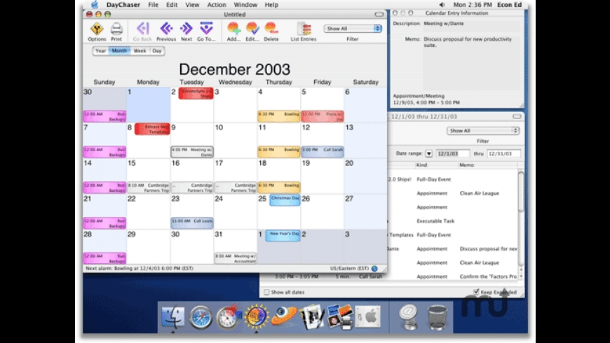 DayChaser for Mac - review, screenshots