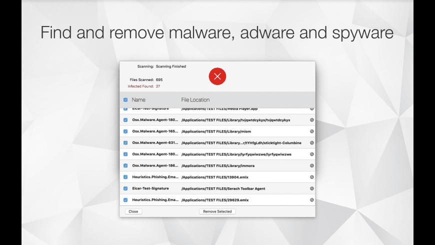 Antivirus Zap for Mac - review, screenshots