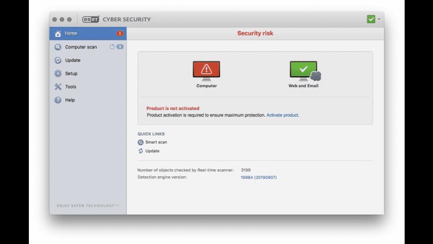 ESET for Mac - review, screenshots