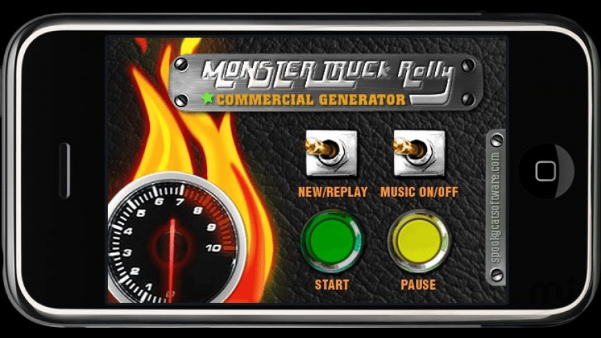 Monster Truck Rally Commercial Generator for Mac - review, screenshots