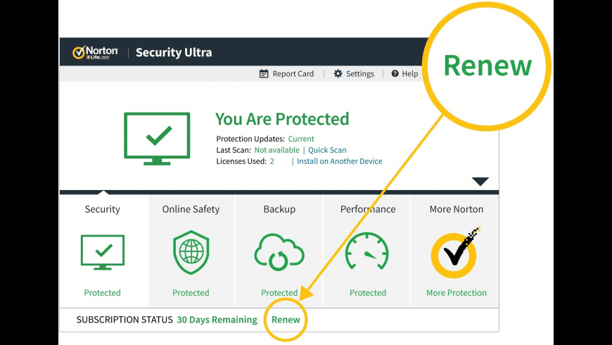 Norton Antivirus for Mac - review, screenshots