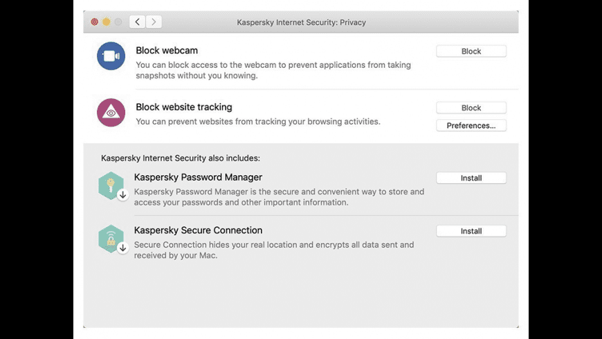 Kaspersky for Mac - review, screenshots