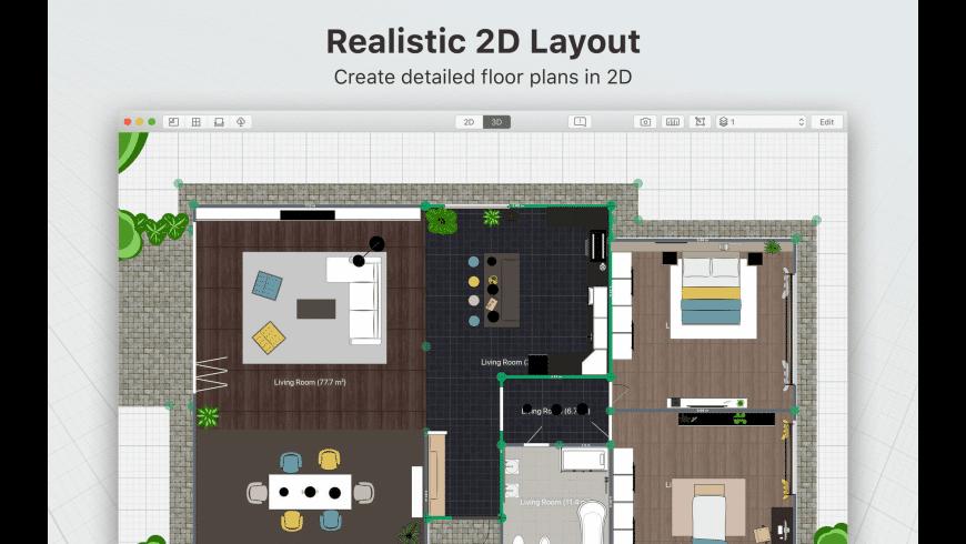 Planner 5D for Mac - review, screenshots