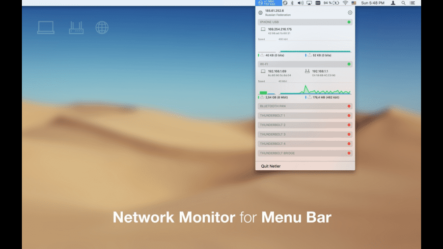 Netler for Mac - review, screenshots
