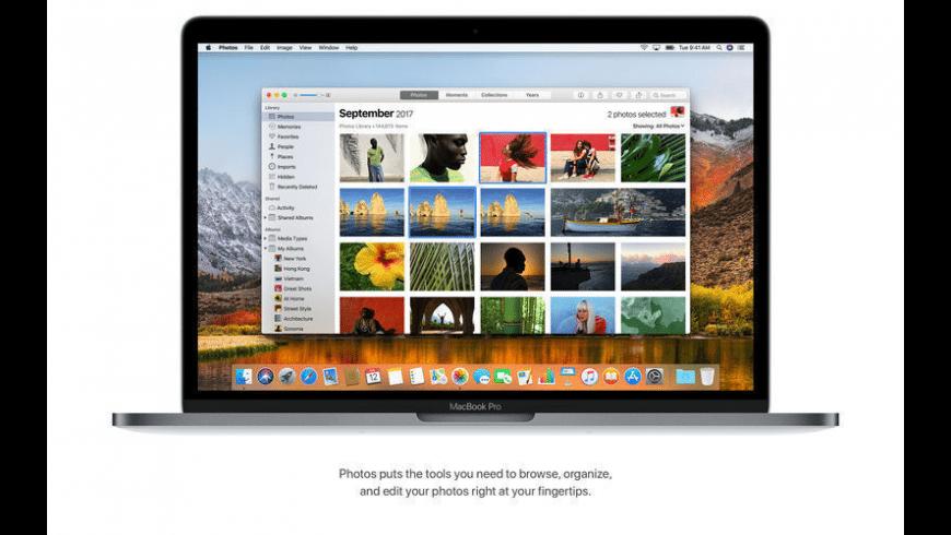 macOS High Sierra Security Updates for Mac - review, screenshots