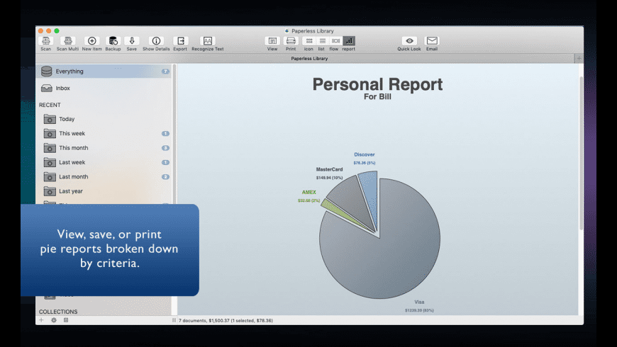 Paperless for Mac - review, screenshots