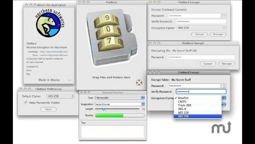 FileWard for Mac - review, screenshots