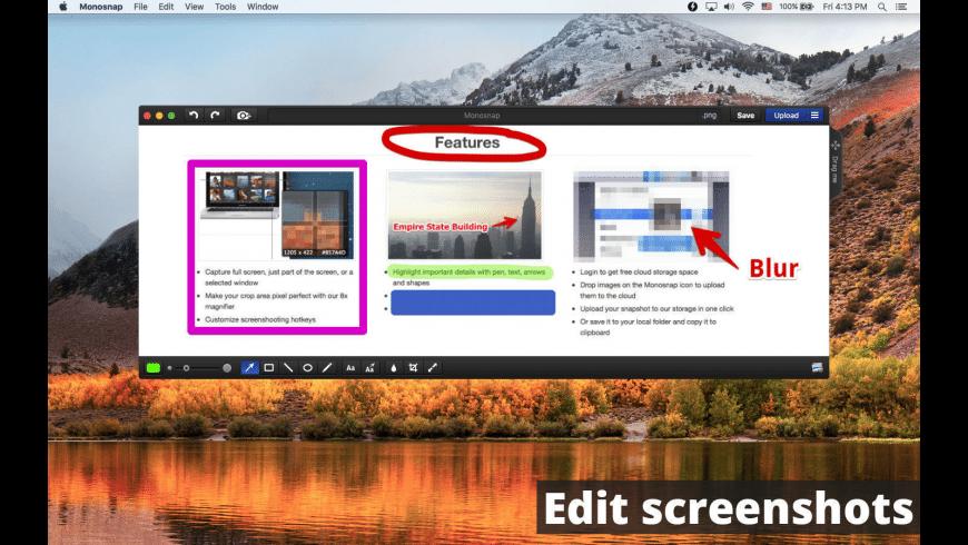Monosnap for Mac - review, screenshots