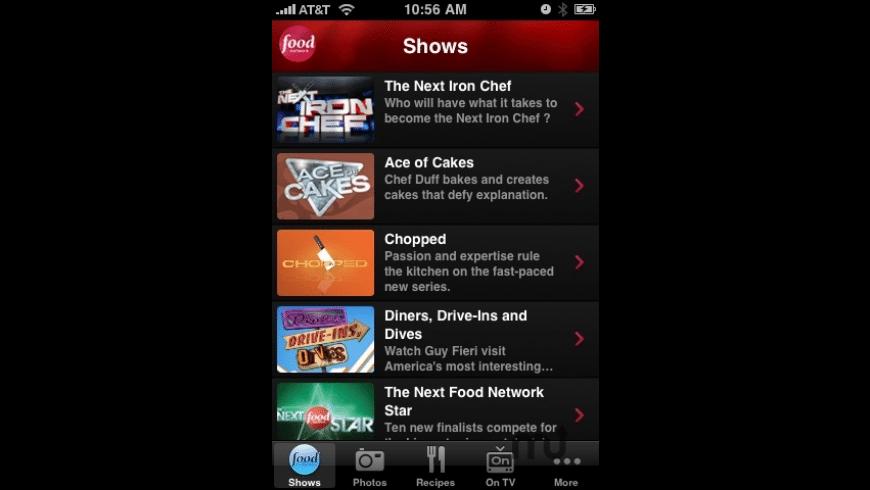 Food Network Nighttime for Mac - review, screenshots