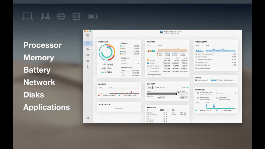 iStatistica Pro for Mac - review, screenshots