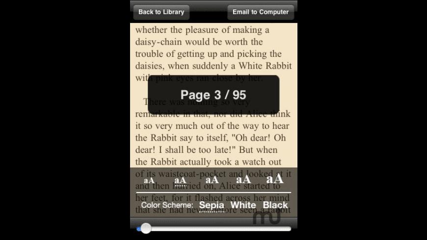 Free Books for Mac - review, screenshots