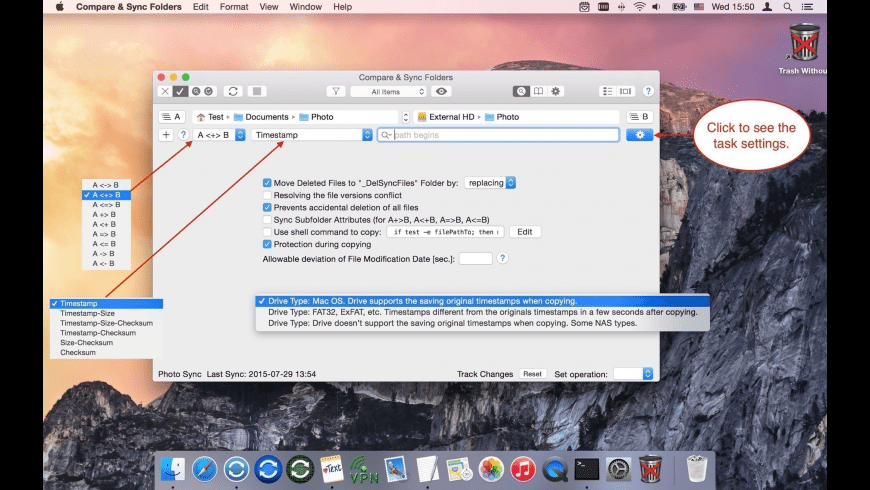 Compare & Sync Folders for Mac - review, screenshots