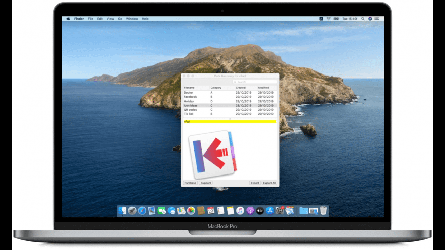 Data Recovery for xPad for Mac - review, screenshots