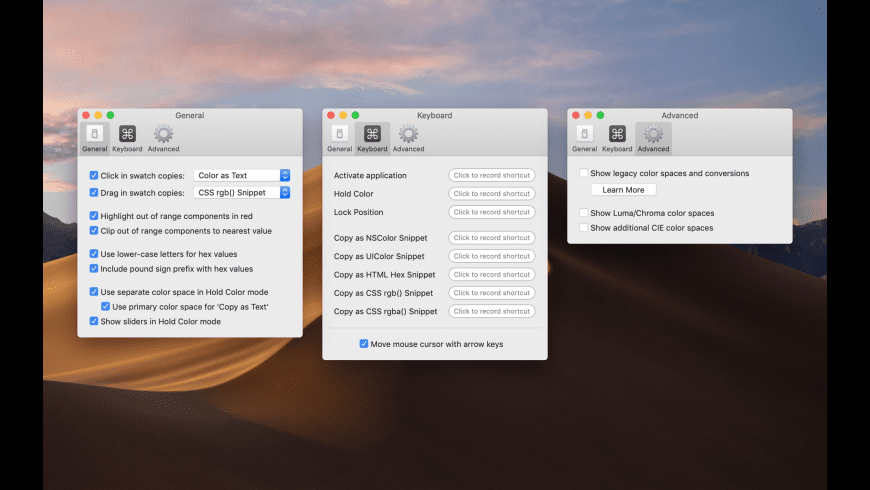 Classic Color Meter for Mac - review, screenshots