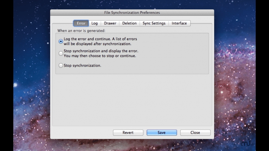 File Synchronization for Mac - review, screenshots