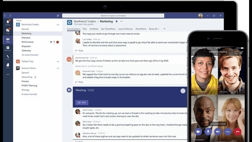 Microsoft Teams for Mac - review, screenshots