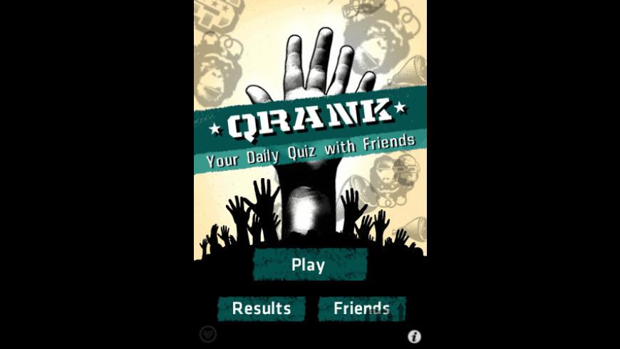QRANK - Social Quiz Addiction for Mac - review, screenshots