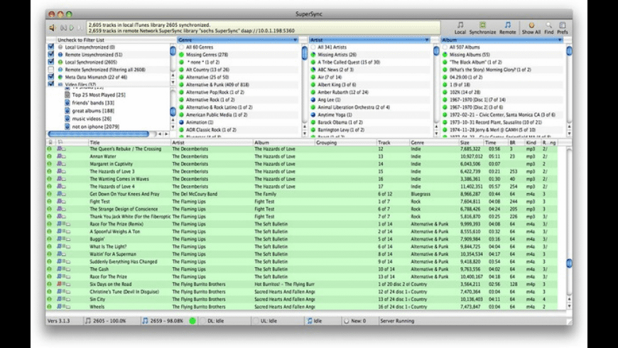 SuperSync for Mac - review, screenshots