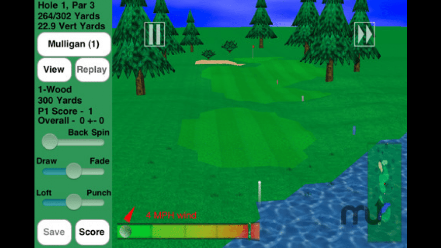 GL Golf Deluxe for Mac - review, screenshots