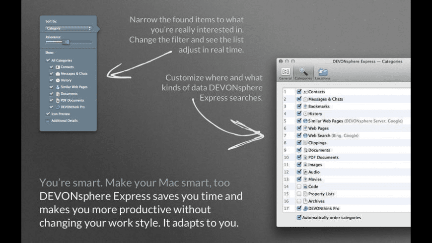 DEVONsphere Express for Mac - review, screenshots