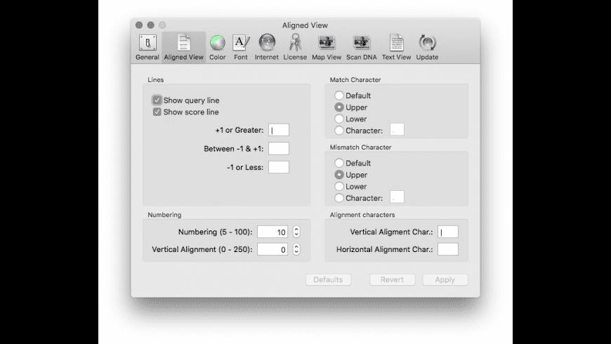 MacVector for Mac - review, screenshots