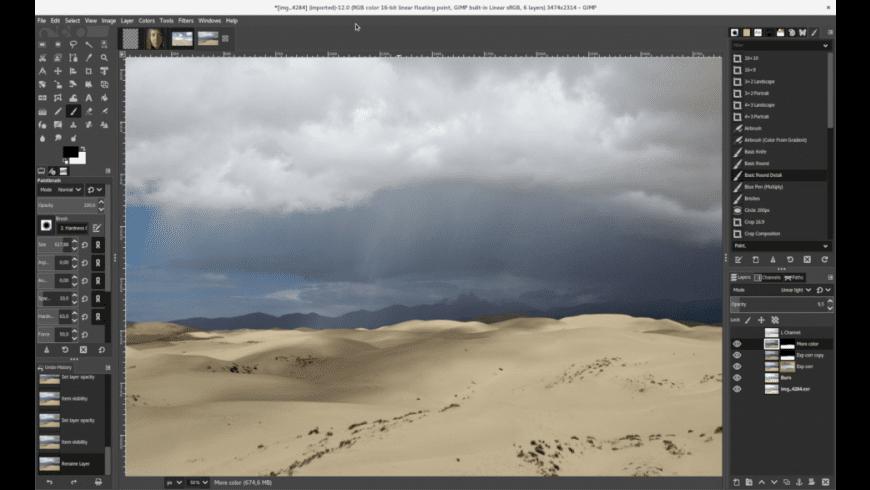 GIMP for Mac - review, screenshots
