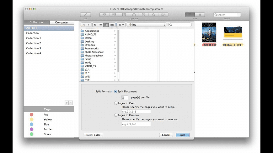 Cisdem PDFManagerUltimate for Mac - review, screenshots