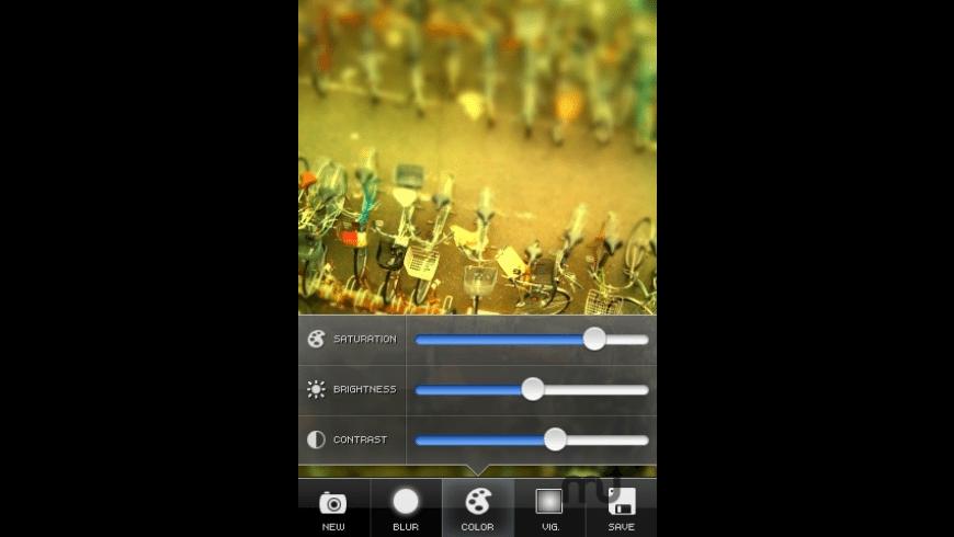 TiltShift Generator - Fake Miniature for Mac - review, screenshots