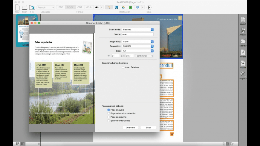 Readiris for Mac - review, screenshots