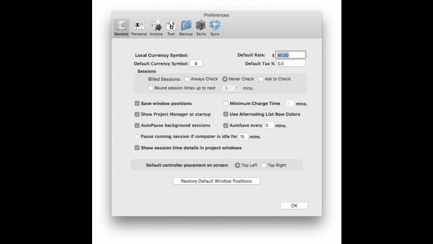 TaskTime4 for Mac - review, screenshots