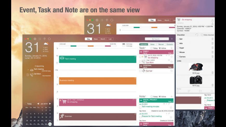 VigCal for Mac - review, screenshots