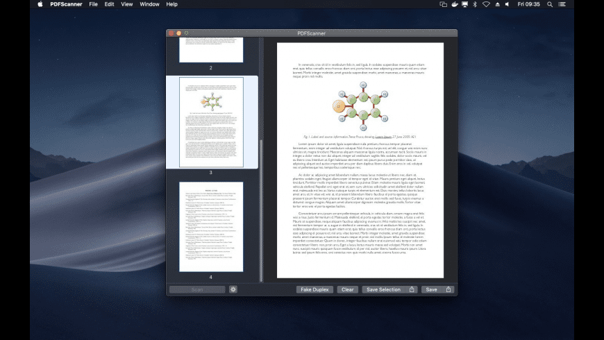 PDFScanner for Mac - review, screenshots