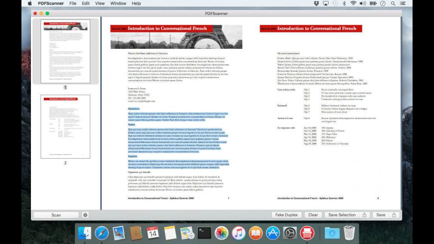 PDFScanner for Mac - review, screenshots