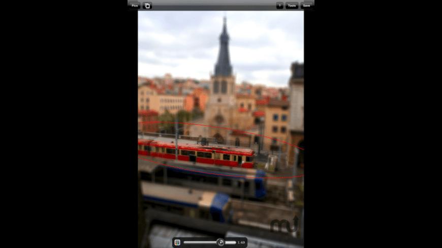 TiltShift for Mac - review, screenshots