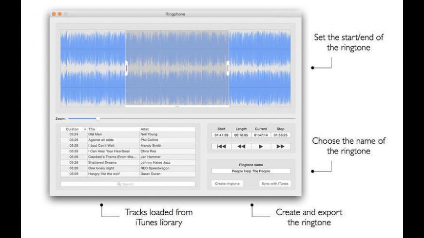Ringphone for Mac - review, screenshots