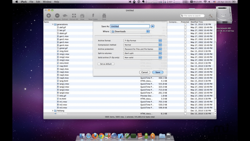 iPack for Mac - review, screenshots