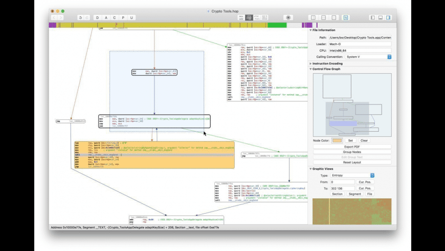 Hopper Disassembler for Mac - review, screenshots