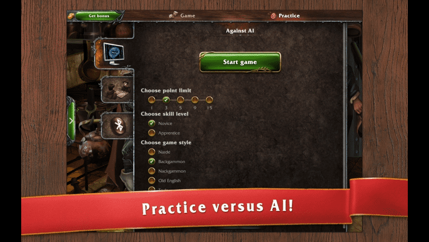 Backgammon Masters Online for Mac - review, screenshots
