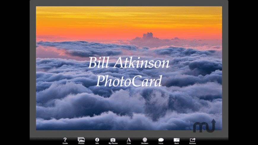 Bill Atkinson PhotoCard for Mac - review, screenshots