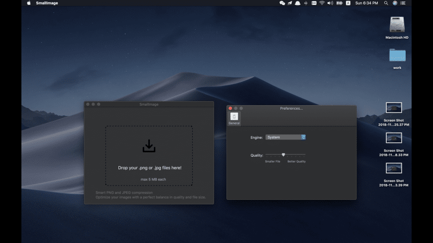 SmallImage for Mac - review, screenshots