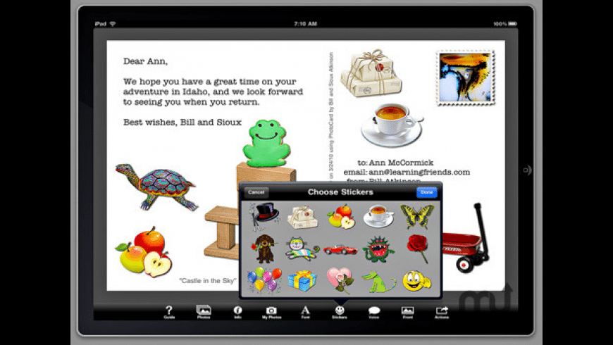 Bill Atkinson PhotoCard Lite for Mac - review, screenshots